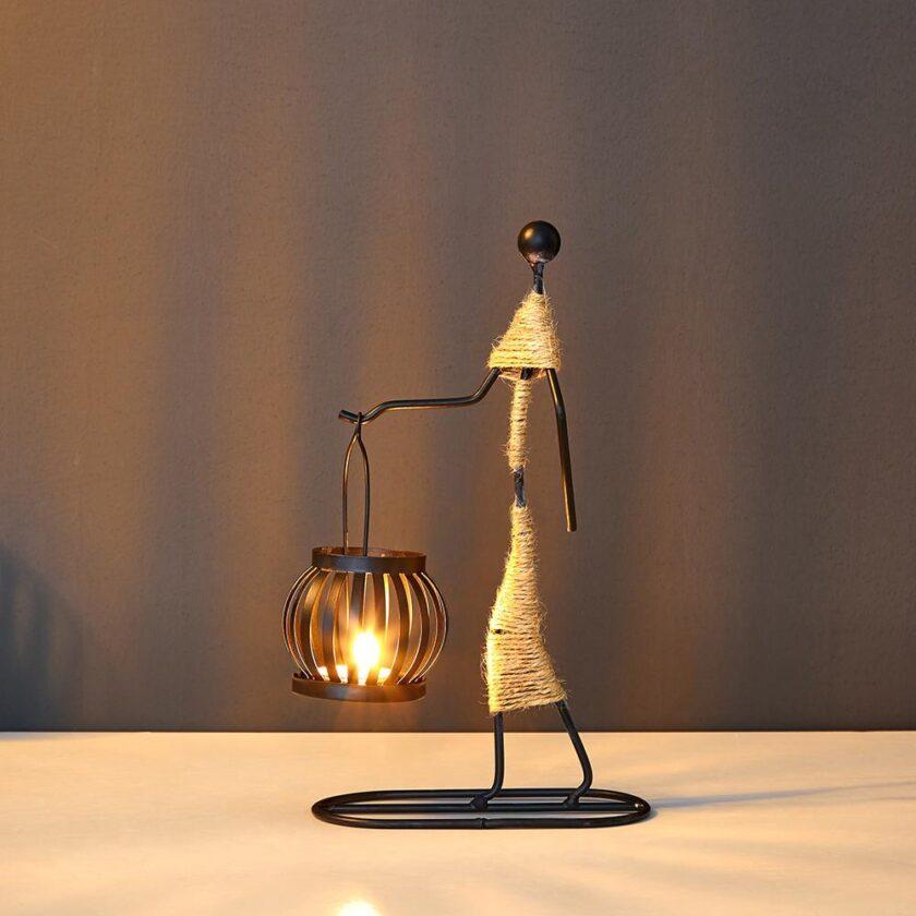 Creative Candle Holder - F