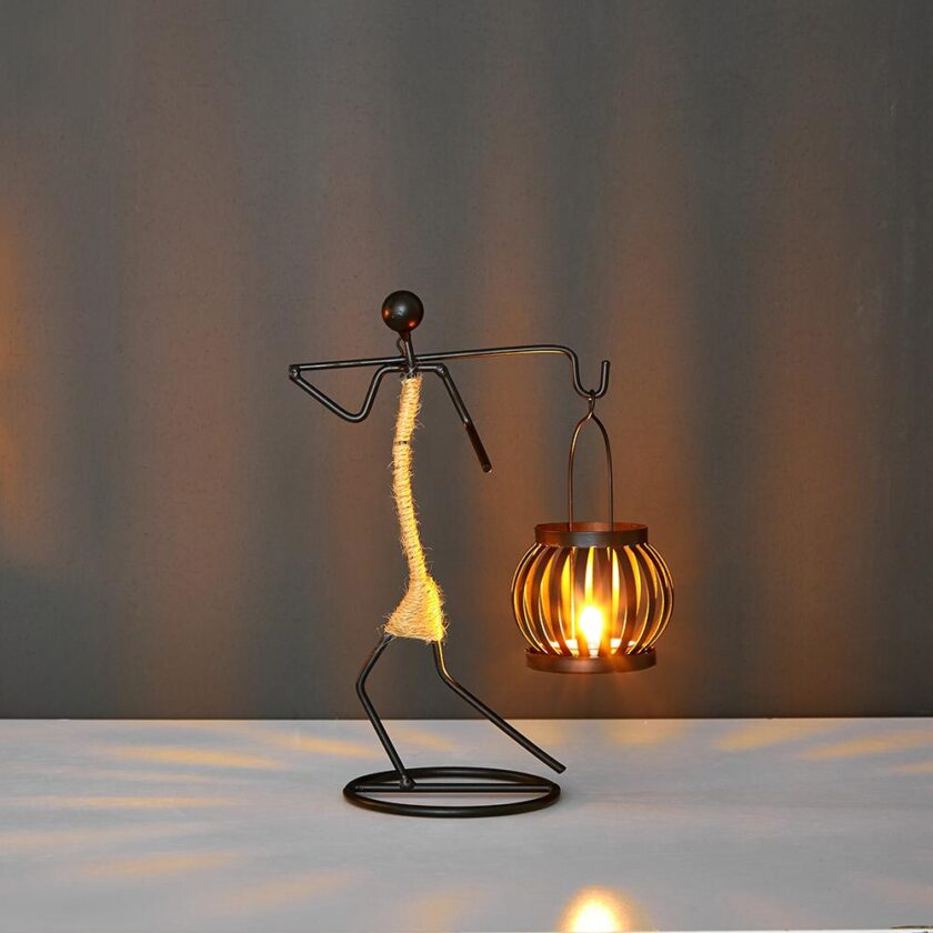 Creative Candle Holder - H