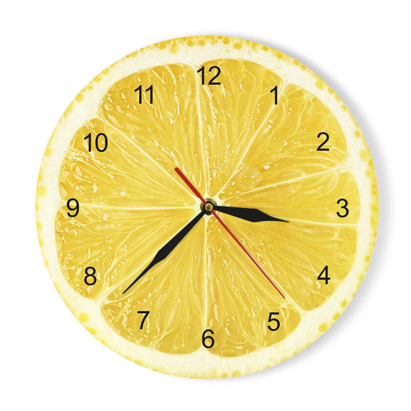 Fruits Wall Clock