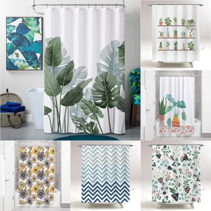 Creative Design Shower Curtain