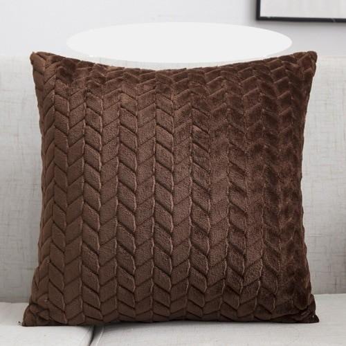 Plush Cushion Cover