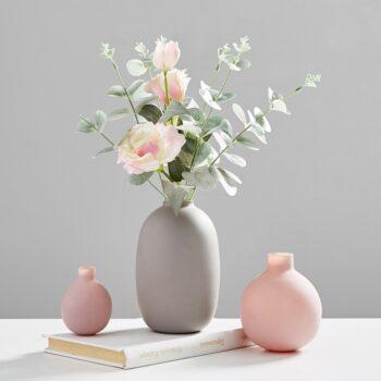 Nordic Style Ceramic Flower Vase