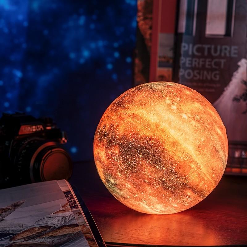 Multicolor Galaxy Lamp