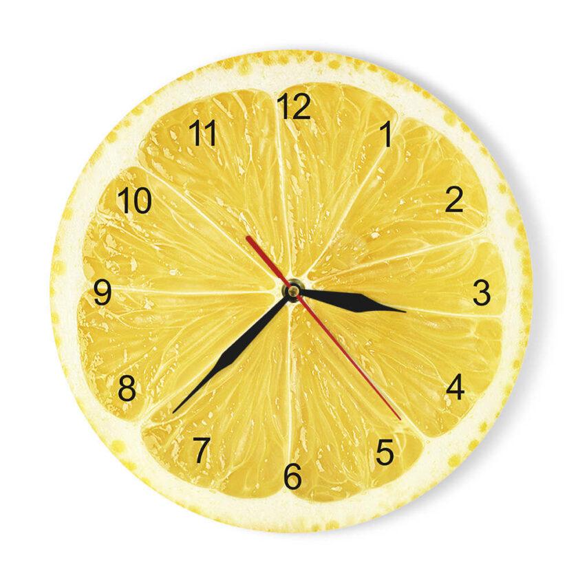 Fruits Wall Clock
