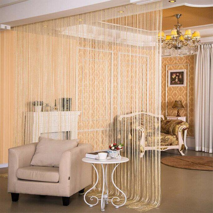 Glitter String Room Divider Curtain