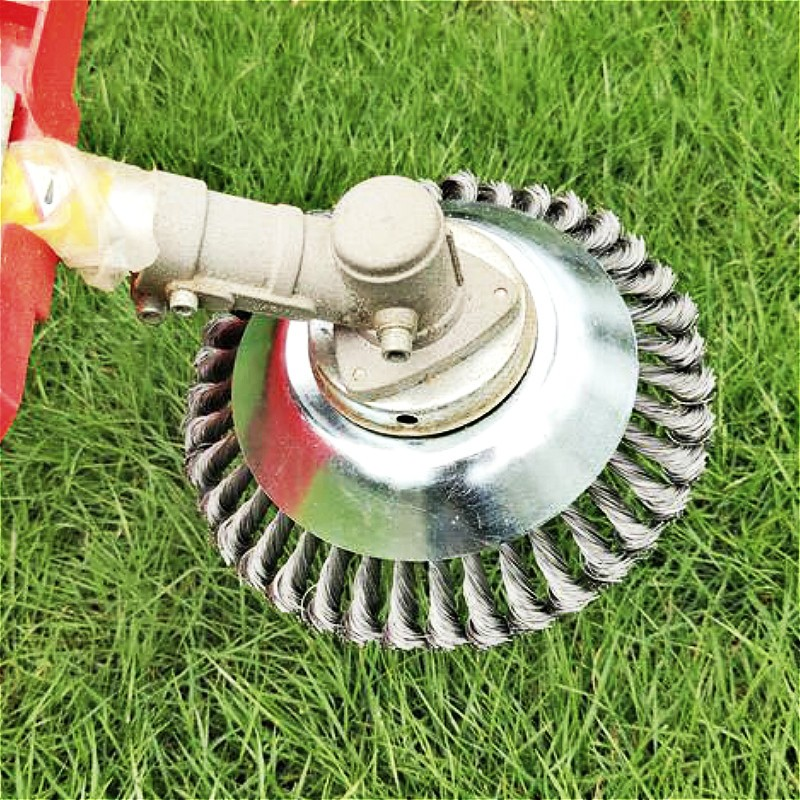 Steel Wire Grass Trimmer Head for Lawn Mower